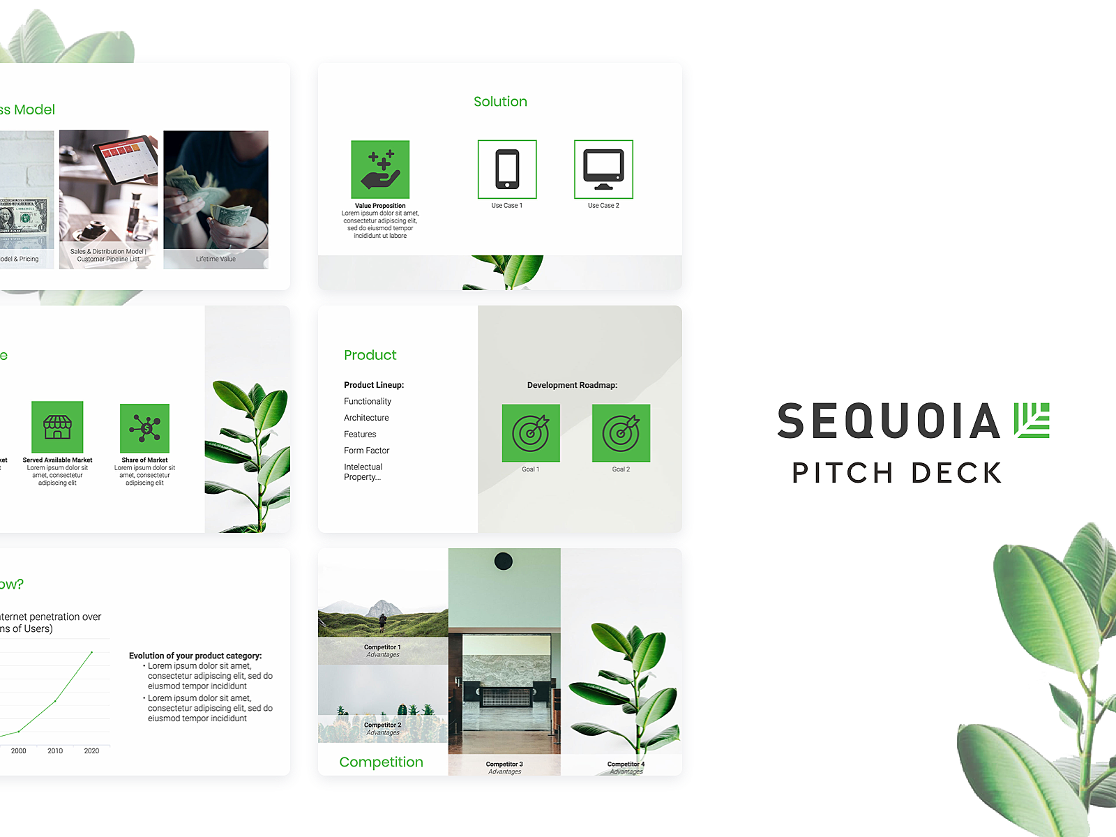 sequoia capital pitch deck template by slidebean on dribbble. Black Bedroom Furniture Sets. Home Design Ideas