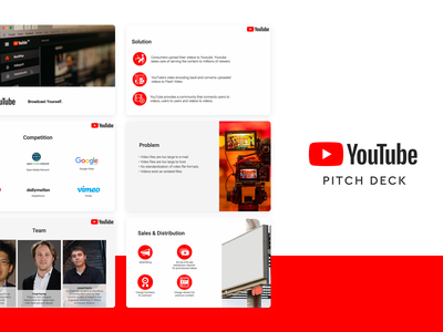 Youtube Pitch Deck Template design slidebean template design deck template pitch deck template presentation template presentation design presentation deck pitch deck design pitch deck pitch pitchdeck youtube