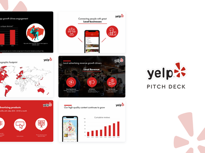 Yelp Pitch Deck template slidebean presentation design presentation template presentation pitch deck template pitch deck design deck pitch deck pitchdeck pitch yelp