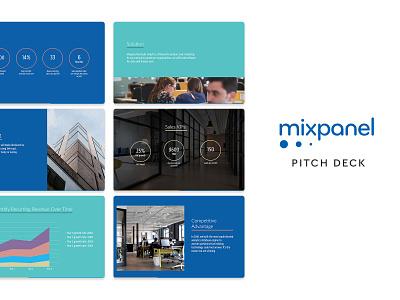 Mixpanel Pitch Deck template slidebean presentation template presentation design presentation pitch deck template pitch deck design pitch deck pitch pdf design deck mixpanel