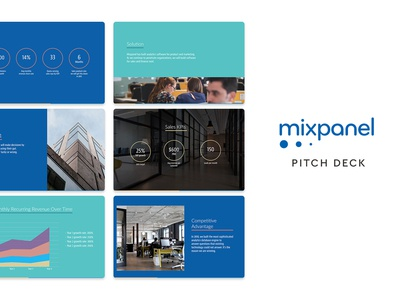 Mixpanel Pitch Deck
