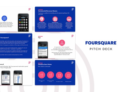 Foursquare Pitch Deck startup pitchdeck template slidebean presentation template presentation design presentation pitch deck template pitch deck design pitch deck pitch pdf foursquare design deck