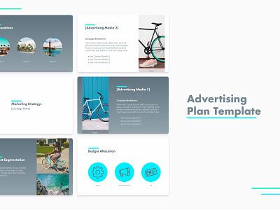 Advertising Plan Template marketing advertising ppt pdf business template design pitchdeck template pitch deck design presentation template pitch deck presentation presentation design