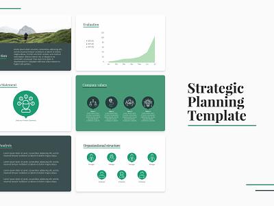Strategic Planning Template design pitchdeck pitch deck design template pitch deck company business strategy planning presentation template presentation presentation design