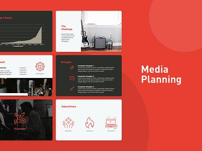 Media Planning Template ppt pitchdeck pitch deck design presentation design pdf pitch deck template design pitch deck slidebean presentation template presentation