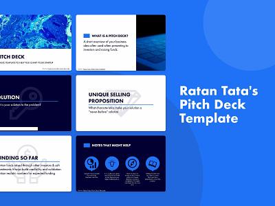 Ratan Tata Startup Pitch Deck Template business pitchdeck template design pitch deck template design slidebean pitch deck presentation template presentation presentation design