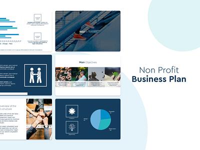 Non-Profit Business Plan Template slidebean presentation template pitch deck presentation template presentation design