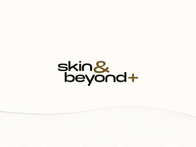 Skin and Beyond Plus Logo consulting typography branding logo