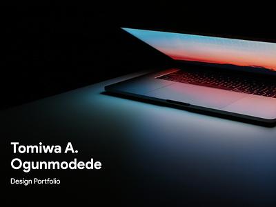 Tomiwa Allan Ogunmodede Design Portfolio — 2019 portfolio creative brand typography icon design branding logo