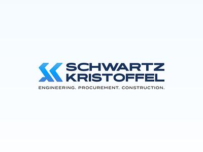 Full Logomark — Schwartz Kristoffel Brand Identity Redesign nigeria logomark typography icon design branding logo
