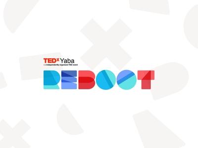 TEDxYaba Reboot Branding - Rebound