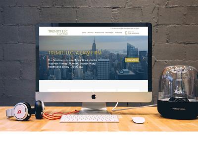 Tremiti Llc  A Law Firm branding design web