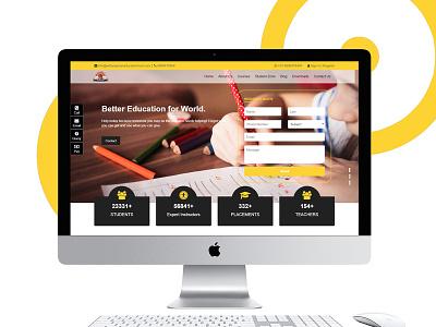 Adhyayan An Educational Trust branding design web