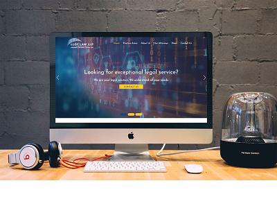 Lloy Low Llp branding web design