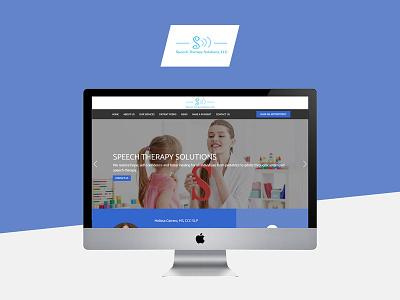 Speech Therapy Solutions branding design web