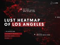 Data Map of LA