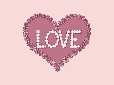 Share the Love Social Media Event Design instagram post instagram social media graphics social media design social graphics event poster event design art direction procreate illustration florida tampa fl tampa armature works share the love valentine flower heart love