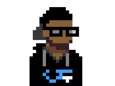 8-bit Avatar for ColdFever illustration