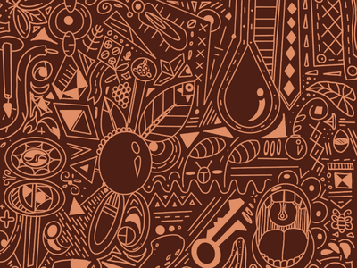Open Up stpete tampaartists tampaart tampadesign tampaartist womenwhoillustrate womeninillustration autumn autumnvibes leaves doodle broach ornament illustration procreate inktoberornament inktoberday17 ink inktober2019
