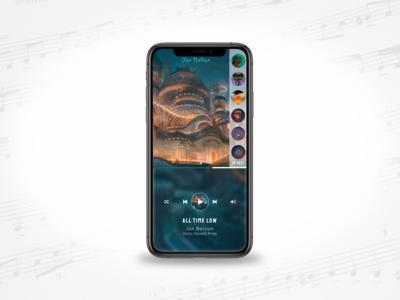DailyUI009- Music Player