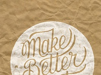Make better art stamped paper