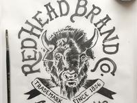 Redhead Brand Co. Bison