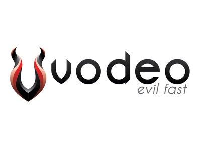 Vodeo Logo logo design logo v fast vodeo evil sexy cid branding skate