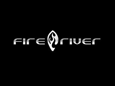 Fire River School Logo logo design logo sexy fire river school cid illustrator