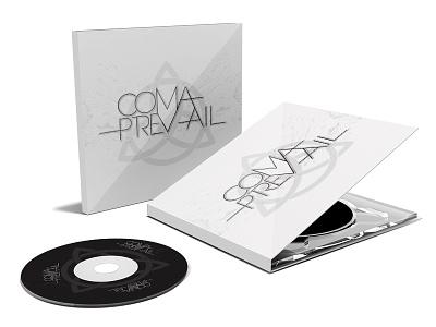 Coma Prevail Cd Case Mockup music logo design metal band cd mockup multimedia print design