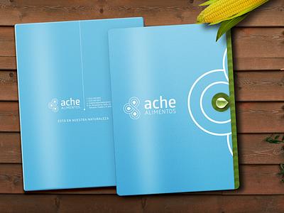 Ache Alimentos drinks logo graphic design happystudio logotype branding brand design