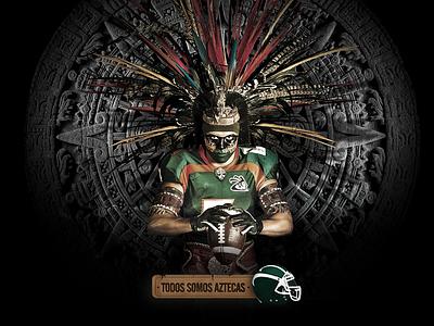 Aztecas UDLAP campaign advertising azteca photo illustration logo logotype happystudio graphic design branding brand design