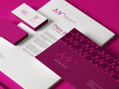Brand for a personal trainer - stationary