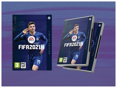 Fifa 21 - Limited Edition Chelsea typography illustrator vector branding graphicdesign layout design