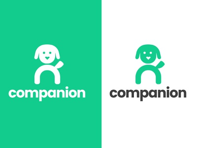 Companion - Logo concept best friends dog logo visual identity app dog illustration branding typography illustrator logodesign logo graphicdesign design
