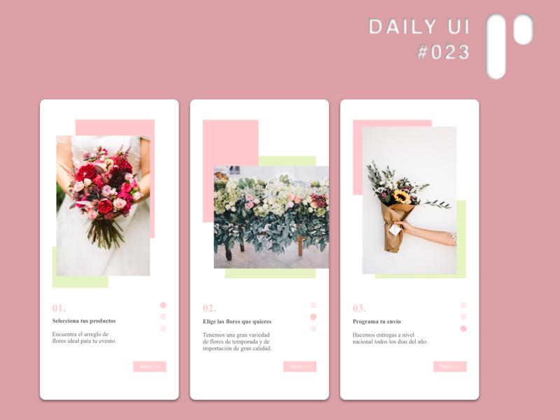 Daily UI Challenge #023 - Onboarding dailyuichallenge ui dailyui digital design ui design