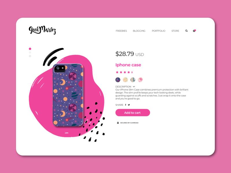 Daily UI Challenge #033 - Customize Product branding app design dailyuichallenge ui dailyui digital design ui design