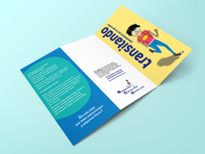 Transitando. Brochure design