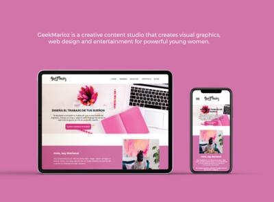 GM Web redesign 2019