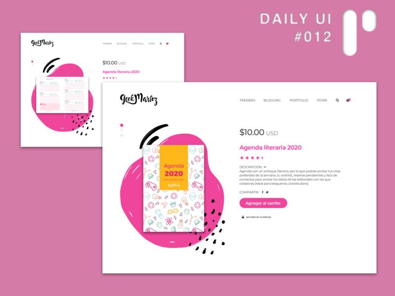Daily UI Challenge #012 - E-Commerce branding ux app design vector dailyuichallenge ui dailyui digital design ui design