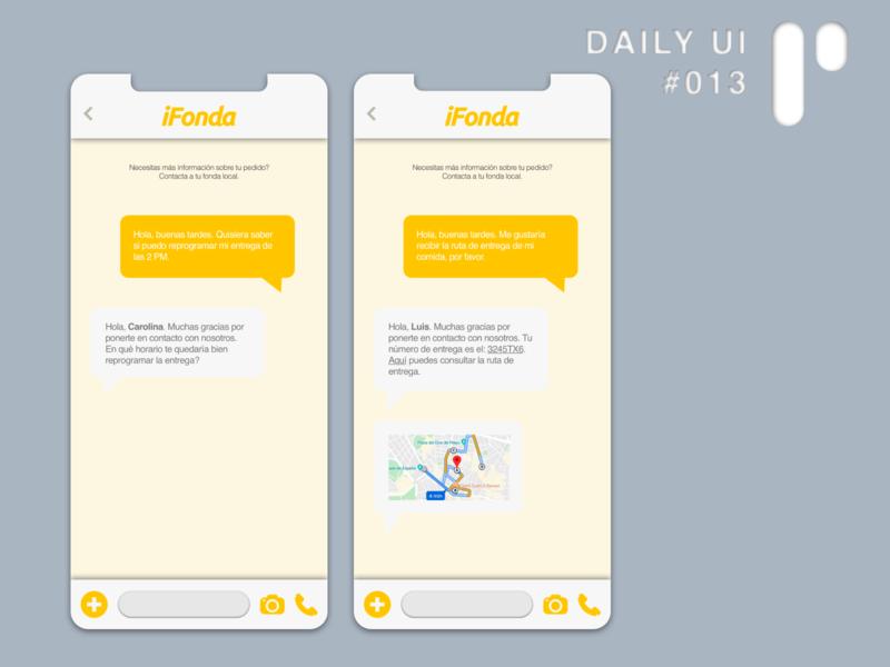 Daily UI Challenge #013 - Direct Messaging app design app dailyuichallenge vector layout ui dailyui digital design ui design