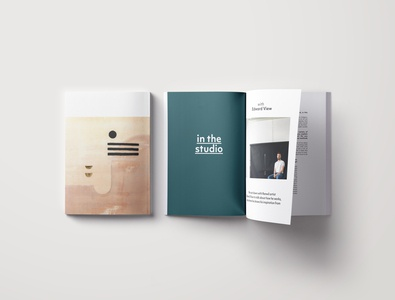 Artist Editorial Issue layout design print design editorial