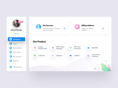My Account Page sale admin dashboard admin panel admin website uidesign uiux ui page account my