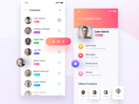 App Design - Contacts