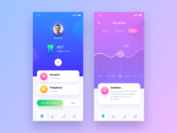Tooth brush app design