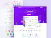Project Manager Website Design