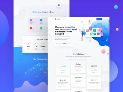weDevs Website Design