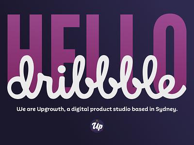 Hello! hello dribbble interaction design intro hello