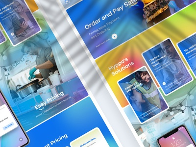 Hyppoe.io minimalist clear design web design landing interface ui website web redesign hyppoe