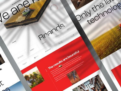 Redesign of kelly-production web design clear landing website webdesign interface web concept clean ui homepage redesign