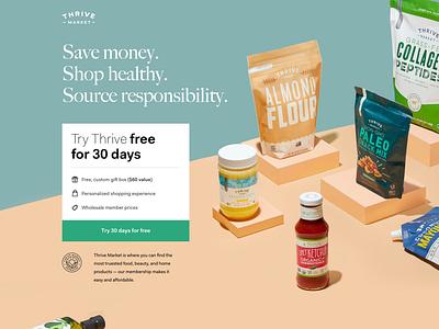 Organic Food (Marketplace), V2 landing ux illustration design branding homepage web design interface ui webdesign web food organic